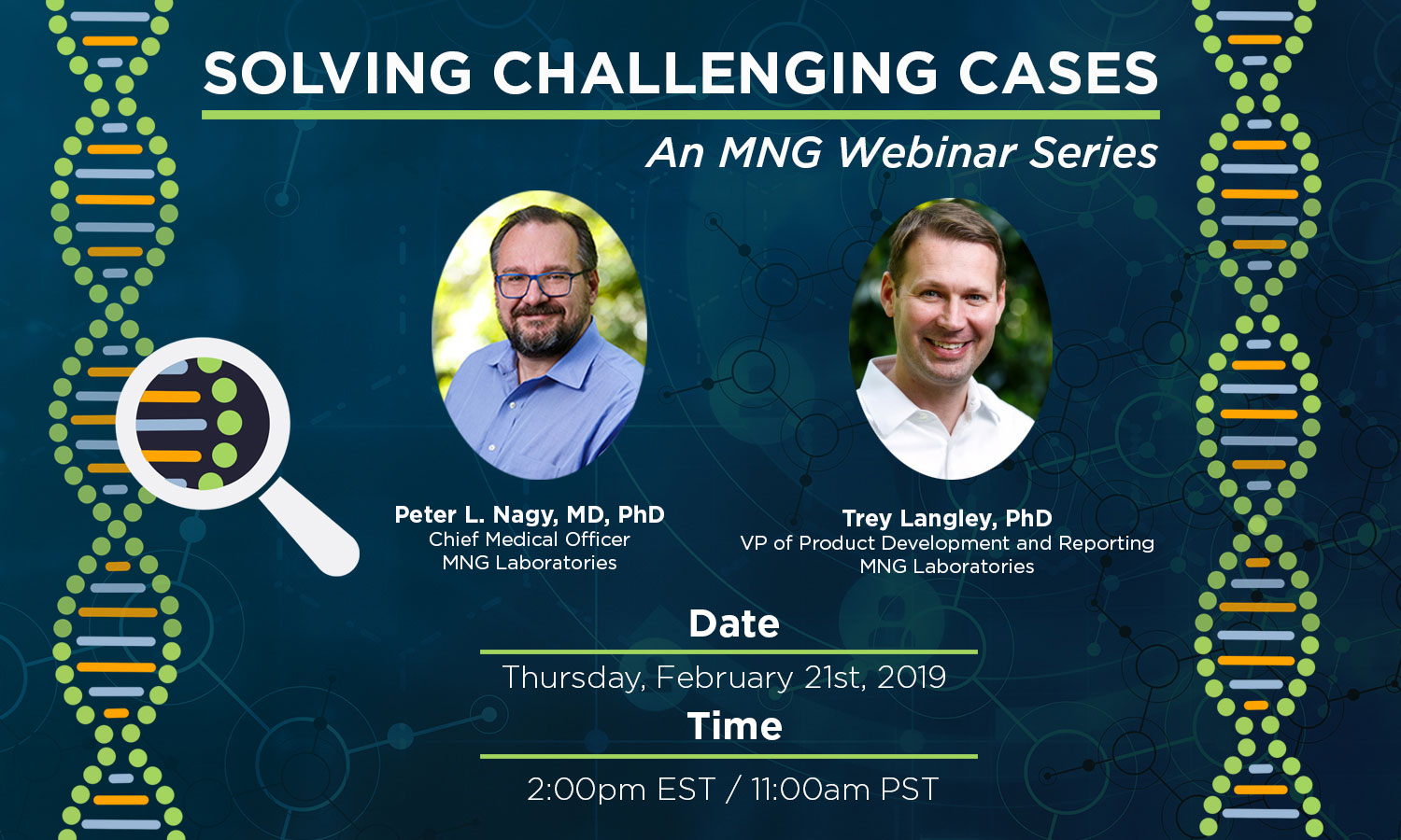 Solving Challenging Cases: An MNG Webinar Series